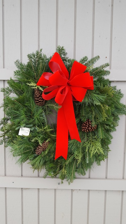 Copper Country Wreath